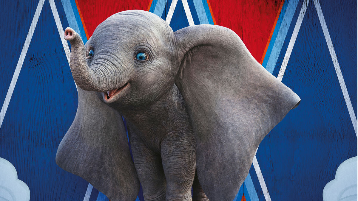 The live-action version of Dumbo (2019)