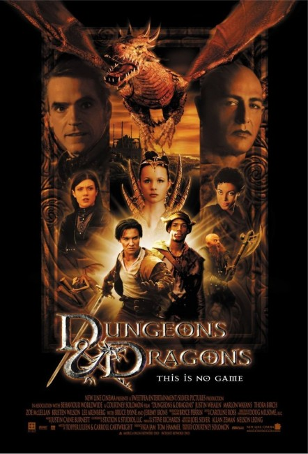 Dungeons and Dragons (2000) poster