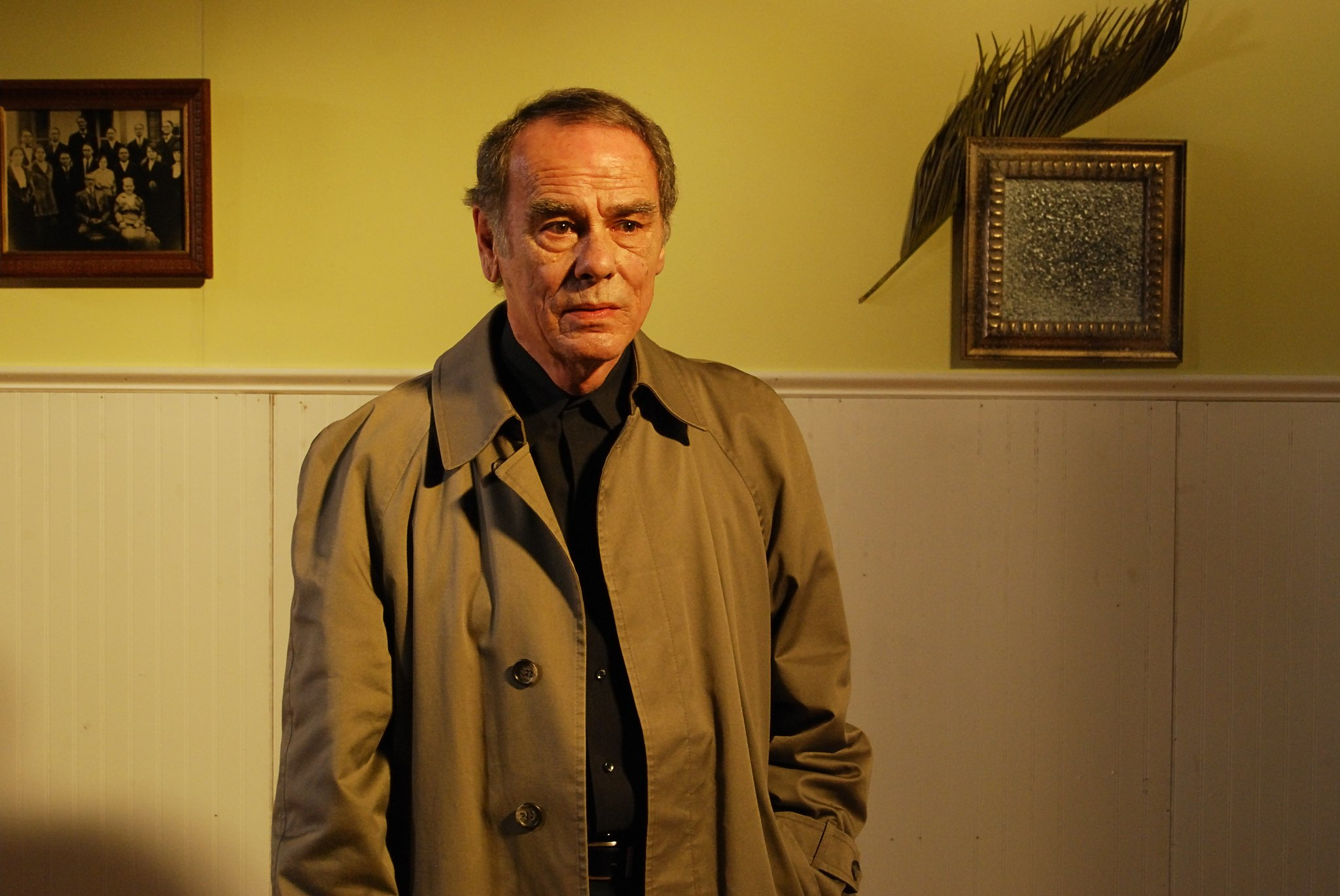 Dean Stockwell as occult expert Dr Armitage in The Dunwich Horror (2009)
