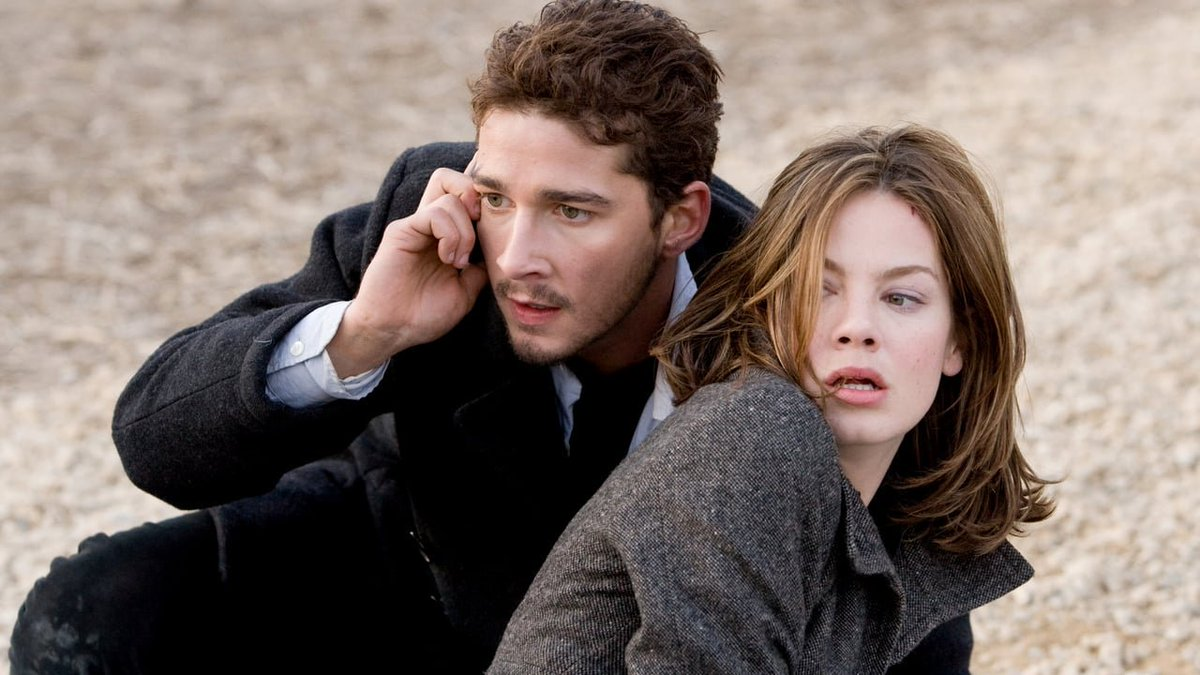 Shia LaBeouf and Michelle Monaghan on the run in Eagle Eye (2008)