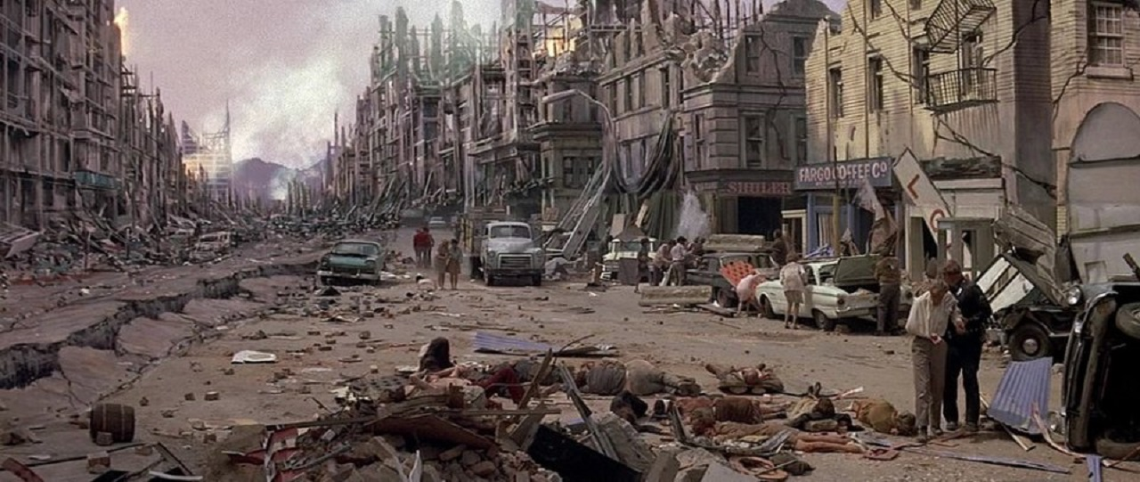 Los Angeles devastated by Earthquake (1974)