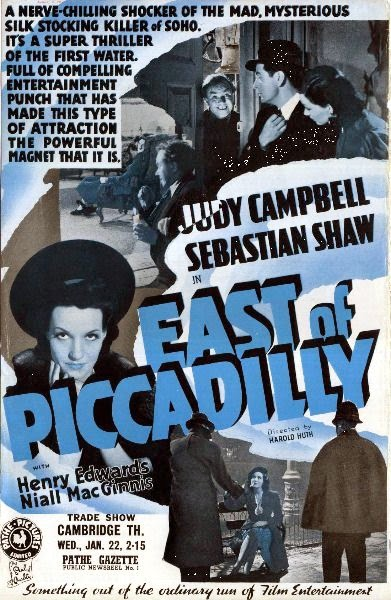 East of Piccadilly (1940) poster