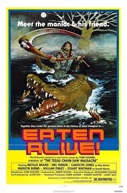Eaten Alive (1977) poster