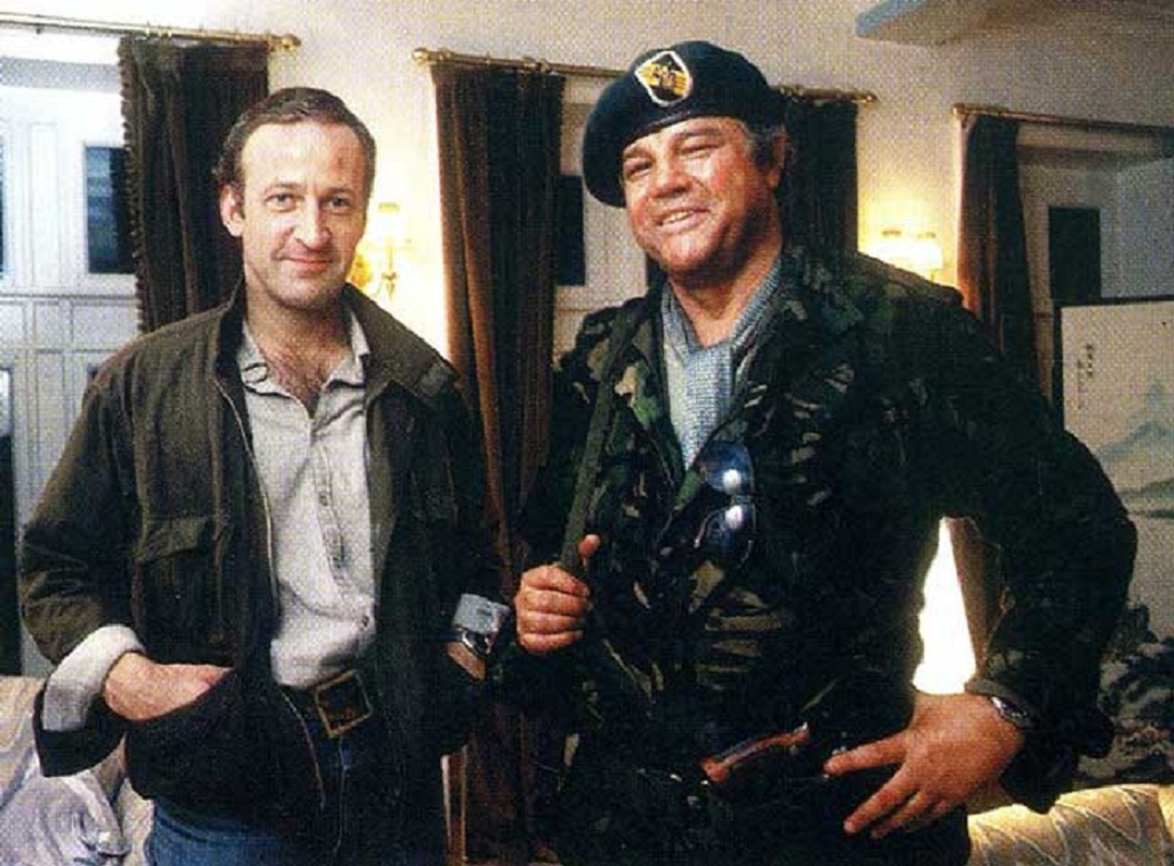 Bob Peck as Ronald Craven and Joe Don Baker as CIA operative Darius Jedburgh in Edge of Darkness (1985)