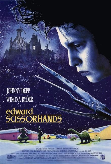 Edward Scissorhands (1990) poster