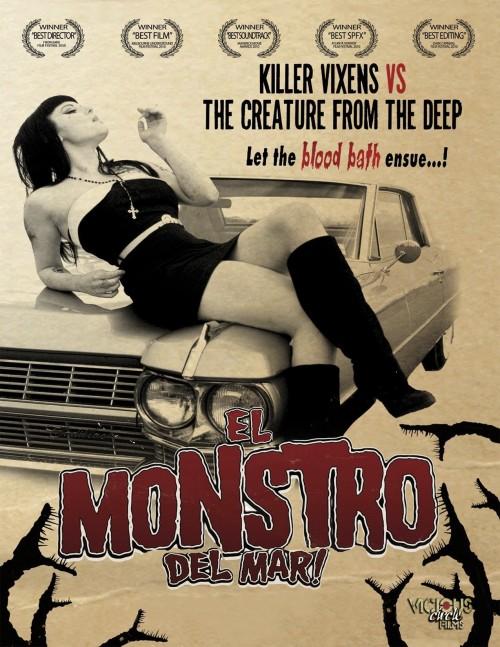 El Monstro del Mar! (2010) poster