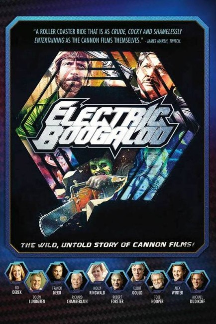 Electric Boogaloo: The Wild, Untold Story of Cannon Films (2014) poster