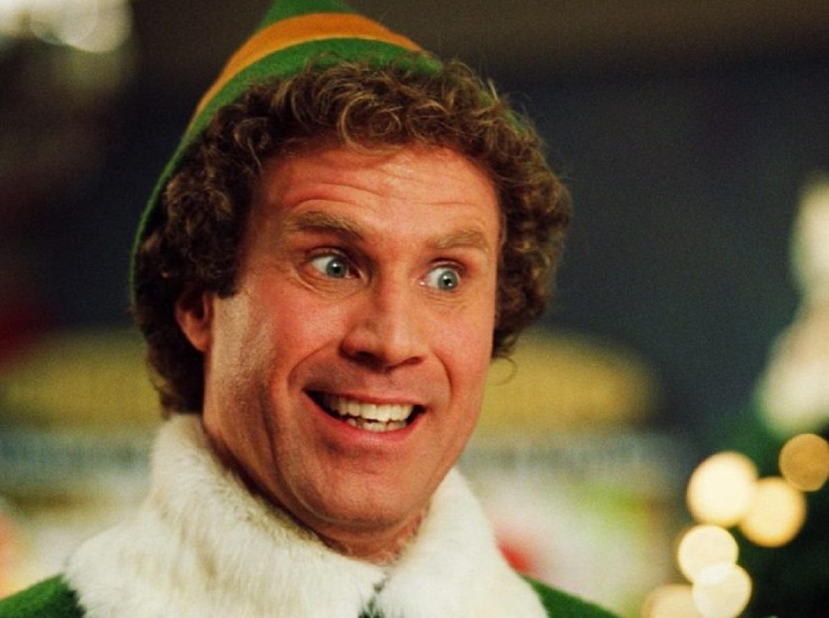 """Will Ferrell as Buddy, a 6'3"""" Christmas elf in Elf (2003)"""