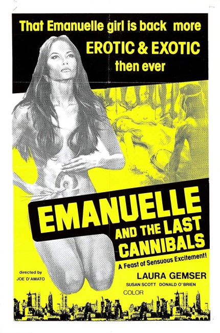 Emanuelle and the Last Cannibals (1977) poster