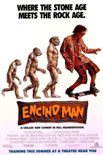 Encino Man (1992) poster