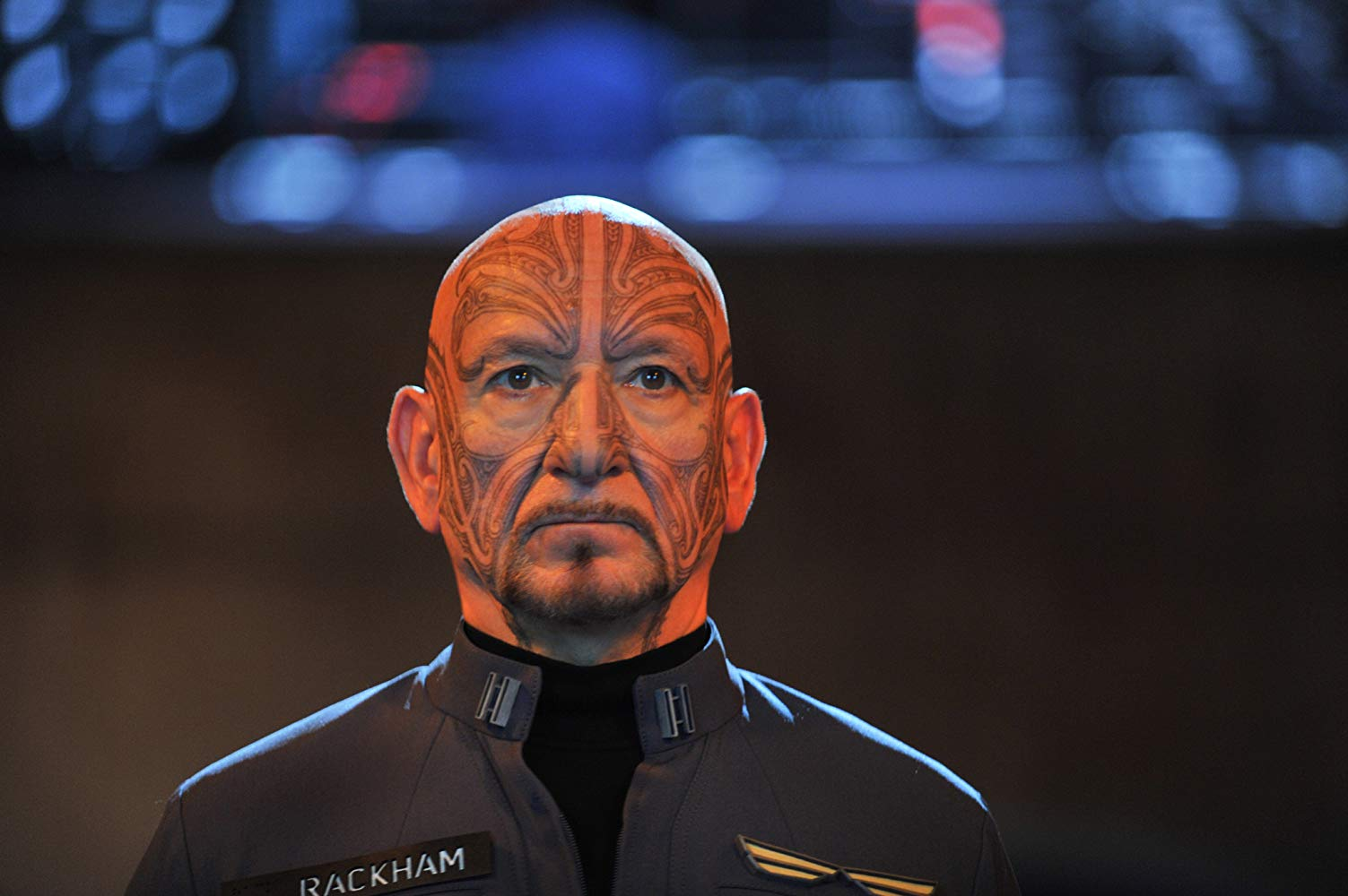 Mazer Rackham (Ben Kingsley) in Ender's Game (2013)