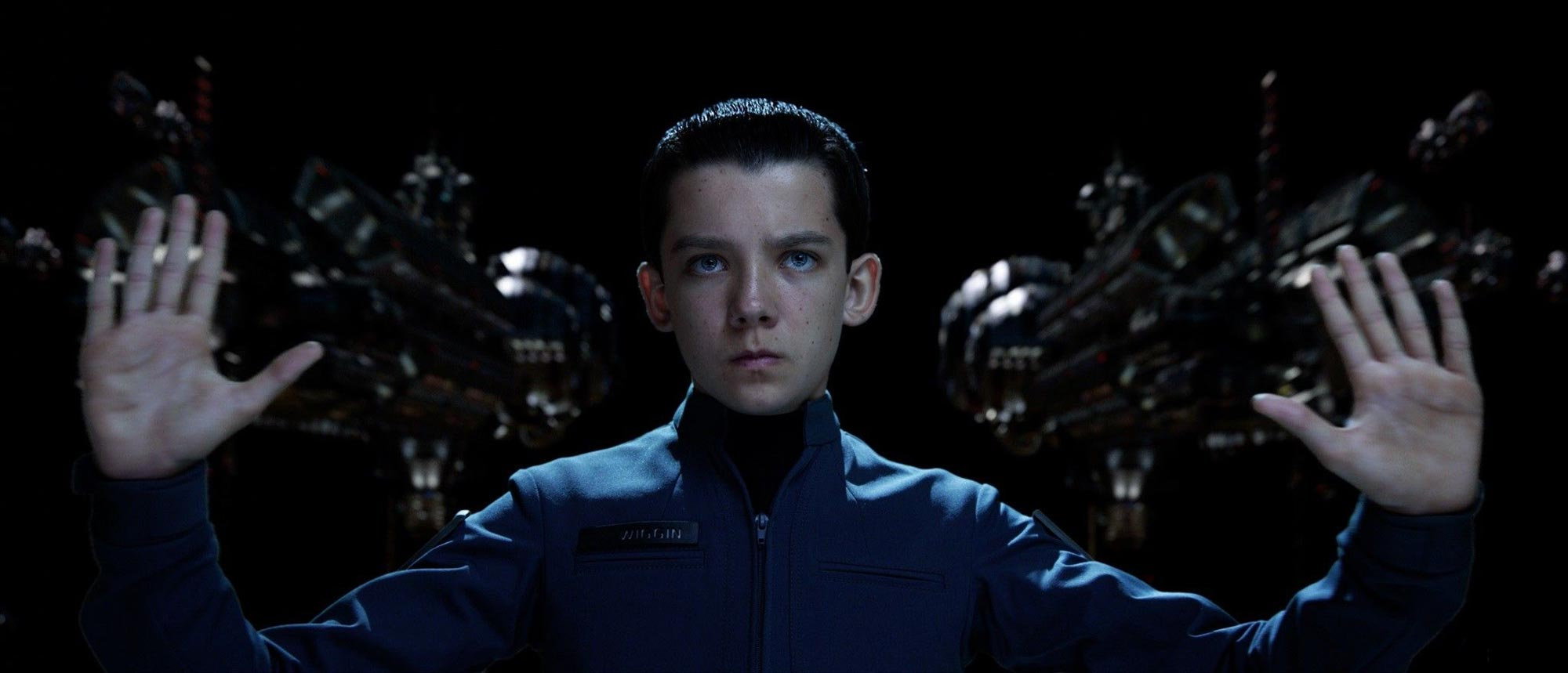 Asa Butterfield as Ender Wiggin in Ender's Game (2013)