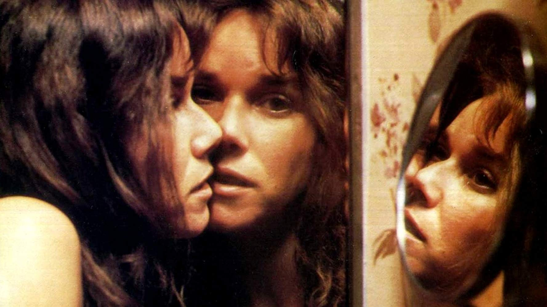 Barbara Hershey under assault by a poltergeist in The Entity (1982)
