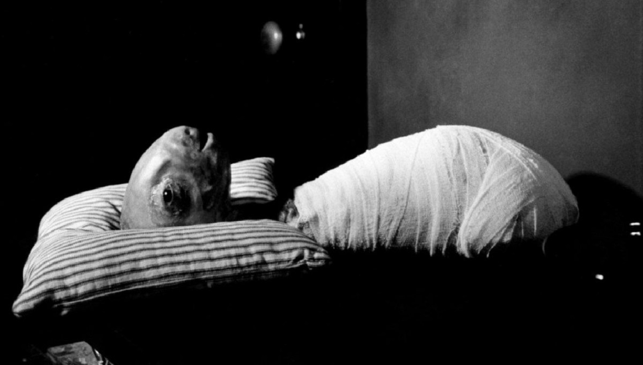 The baby in Eraserhead (1977)