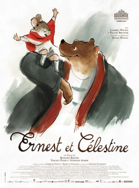 Ernest and Celestine (2012) poster