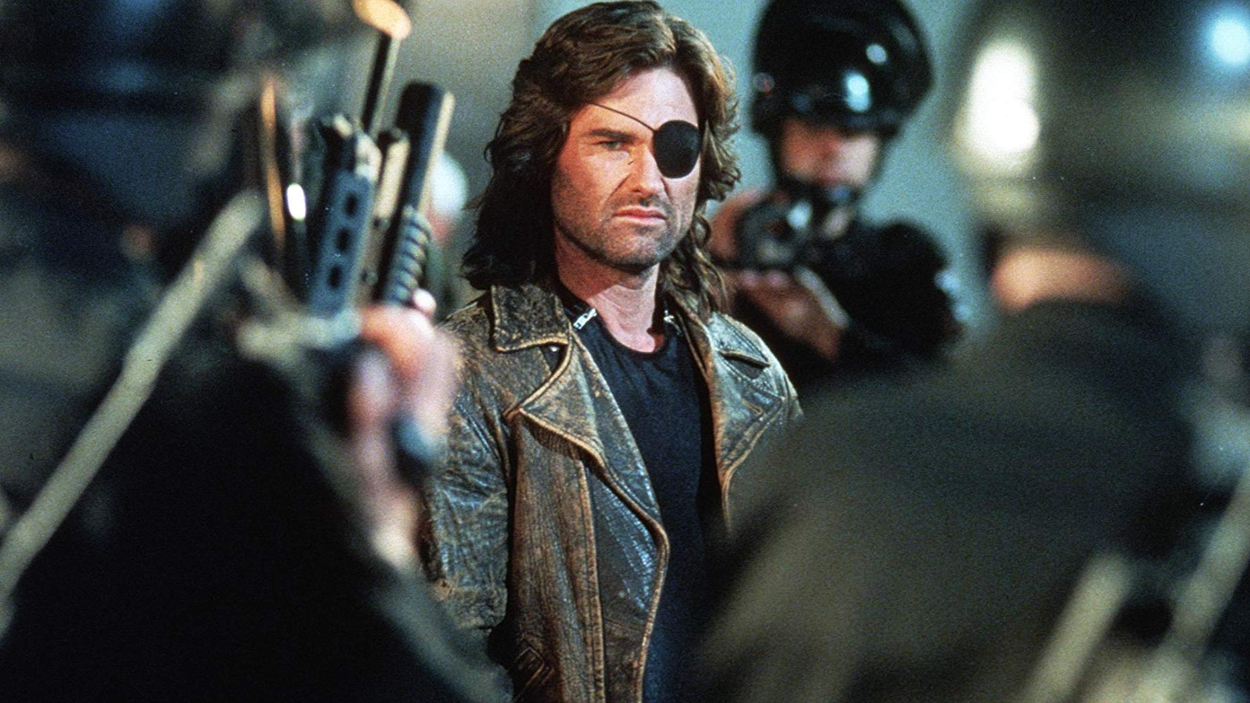 Kurt Russell back as Snake Plissken in Escape from L.A. (1996)