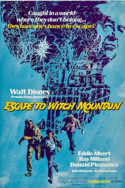 Escape to Witch Mountain (1975) poster