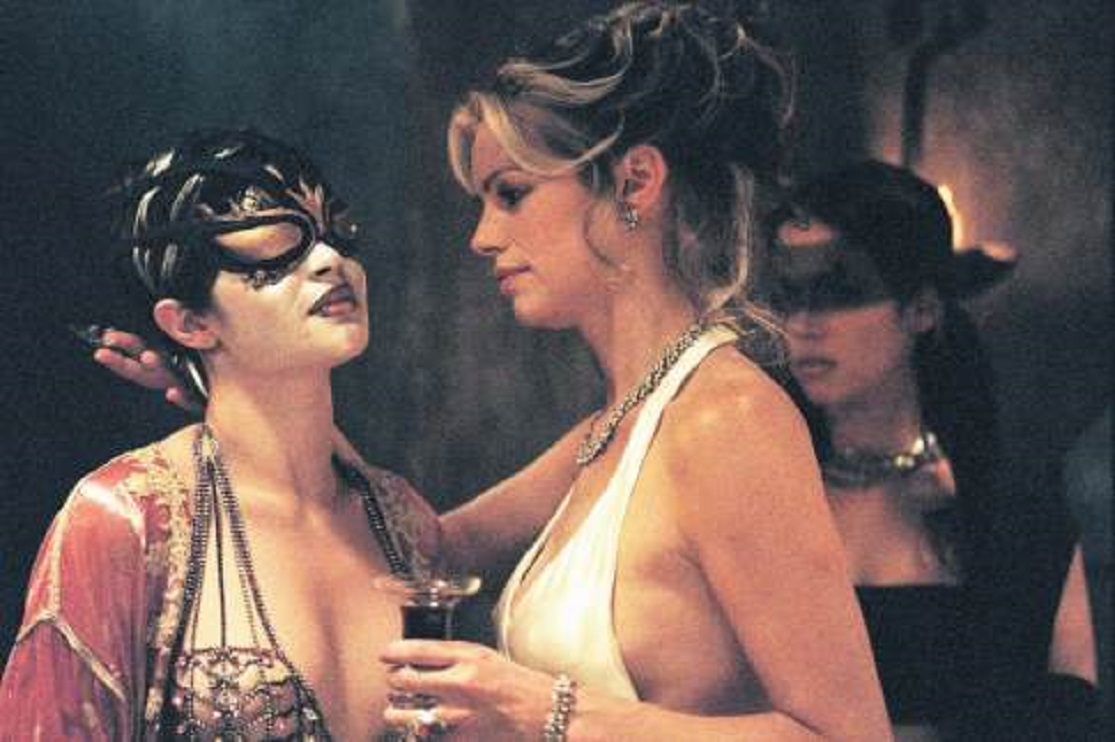 Caroline Néron at the masked ball in Eternal (2004)