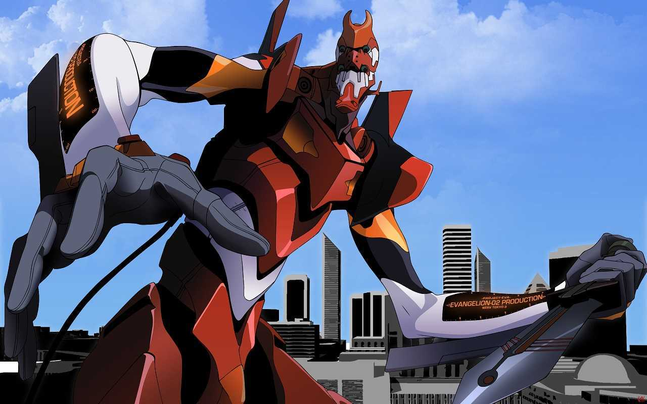 EVA Unit 02 in Evangelion 2.0: You Can (Not) Advance (2009)