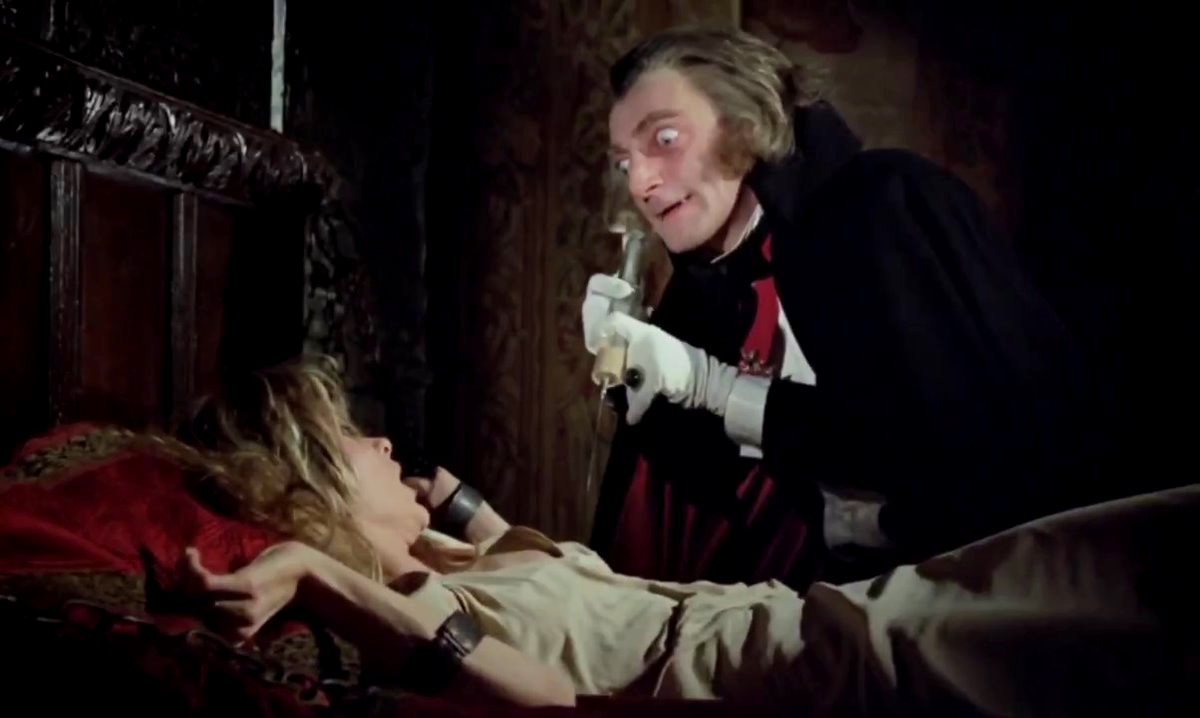 Marty Fledman as a vampire in Every Home Should Have One (1970)