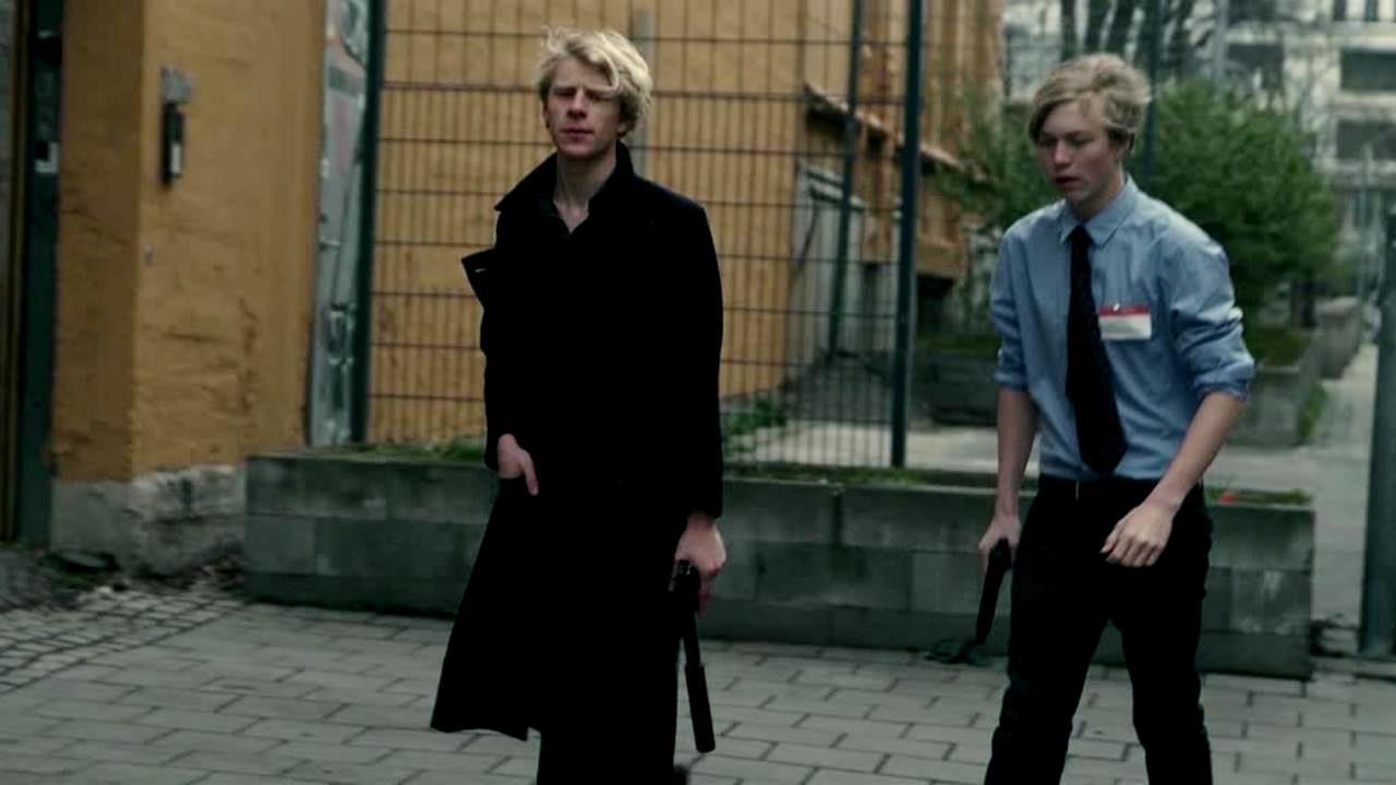 Hugo Herrmann and Harald Evjan Furuholmen in Everywhen (2013)