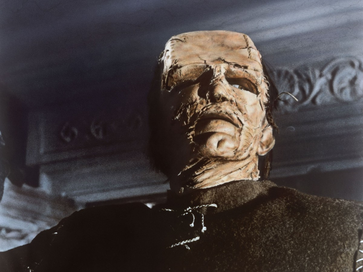 Kiwi Kingston as The Monster in The Evil of Frankenstein (1964)