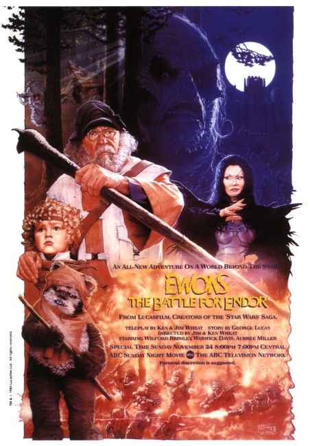 Ewoks and the Marauders of Endor (1986) poster