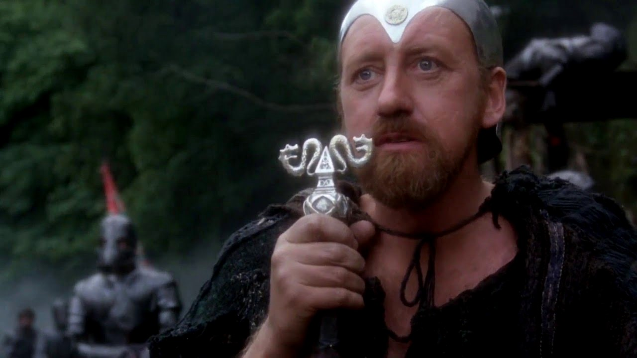 Merlin (Nicol Williamson) in Excalibur (1981)
