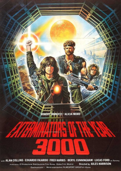 The Exterminators of the Year 3000 (1983) poster