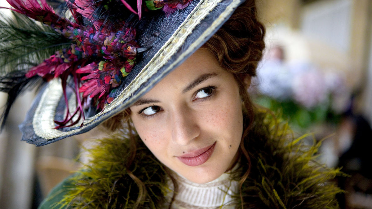 Louise Bourgoin as Adele Blanc-Sec in The Extraordinary Adventures of Adele Blanc-Sec (2010)