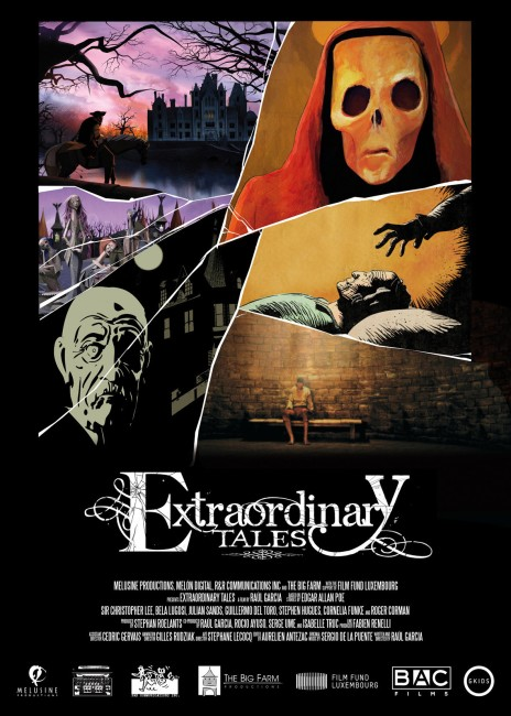 Extraordinary Tales (2015) poster