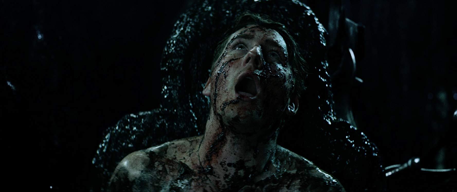Jesse Moss undergoes an alien encounter in Extraterrestrial (2014)