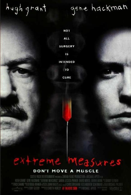 Extreme Measures (1996) poster