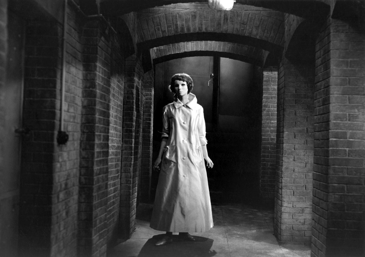Edith Scob in Eyes Without a Face (Les Yeux Sans Visage) (1959)