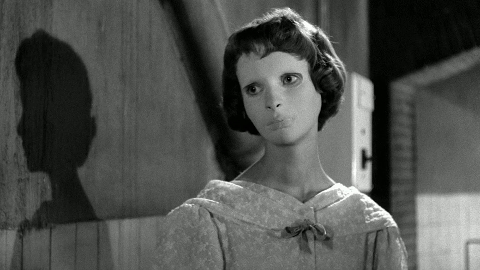 Edith Scob in Eyes Without a Face (Les Yeux Sans Visage) (1959) poster