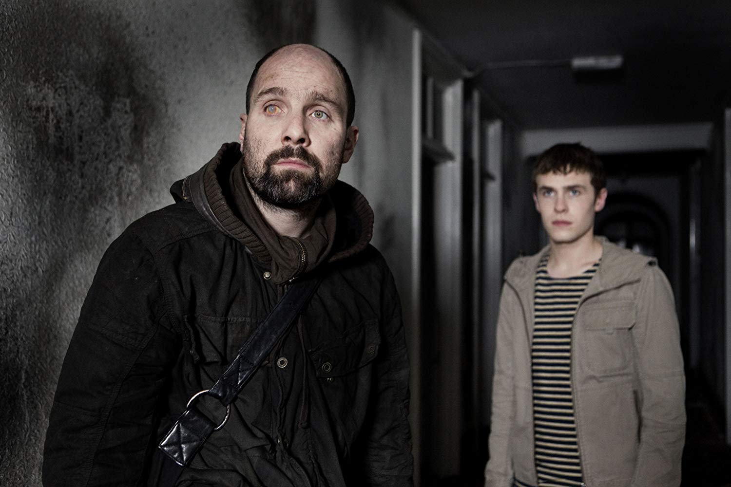 Johnny Harris and Iain De Caestecker in The Fades (2011)