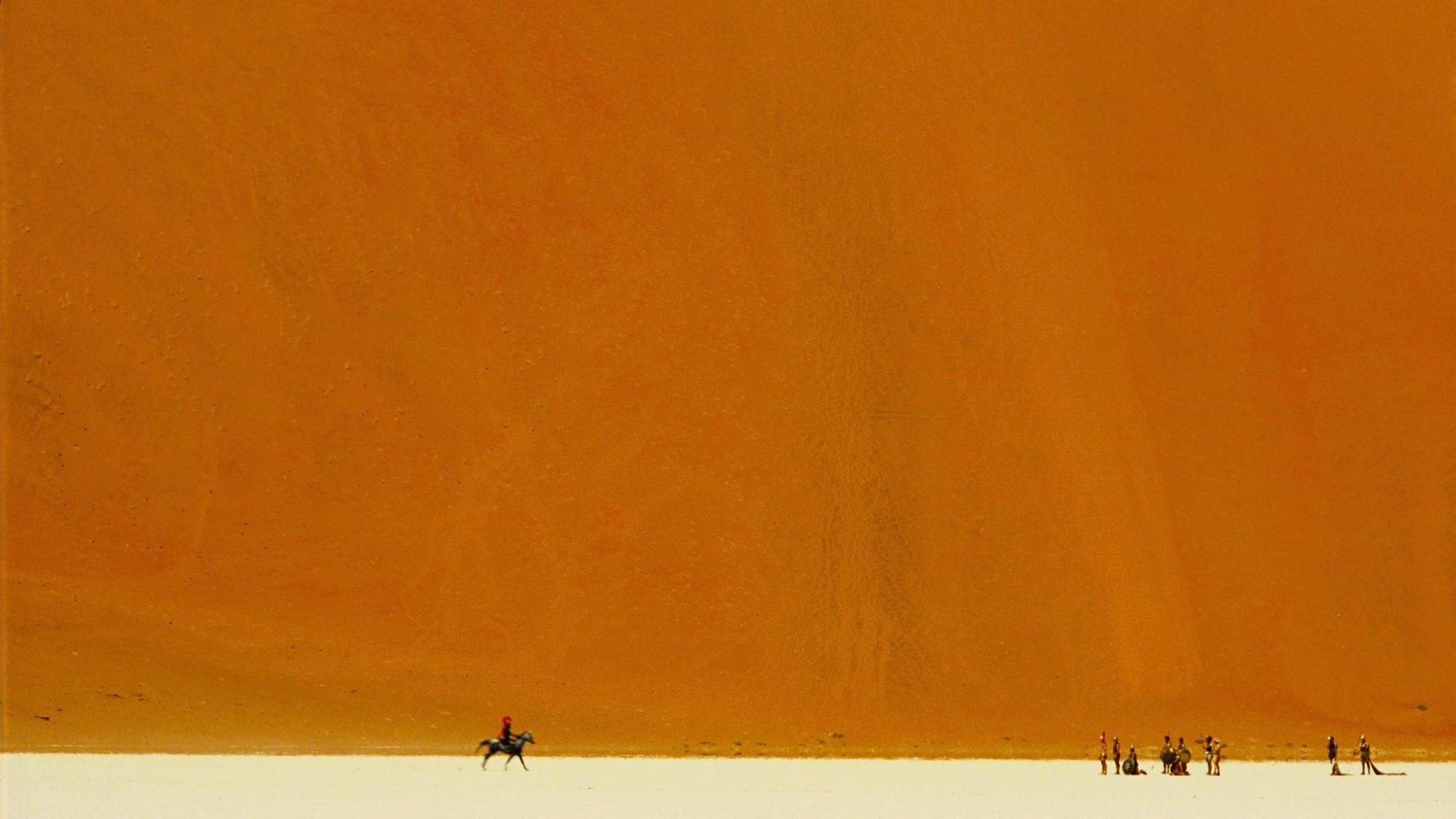 A meeting in the Namibian desert in The Fall (2006)