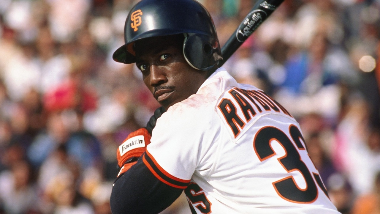 Wesley Snipes as baseball player Bobby Rayburn in The Fan (1996)