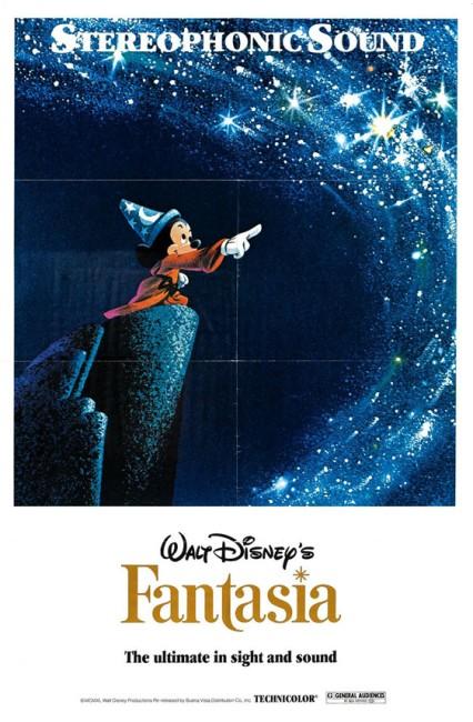 Fantasia (1940) poster