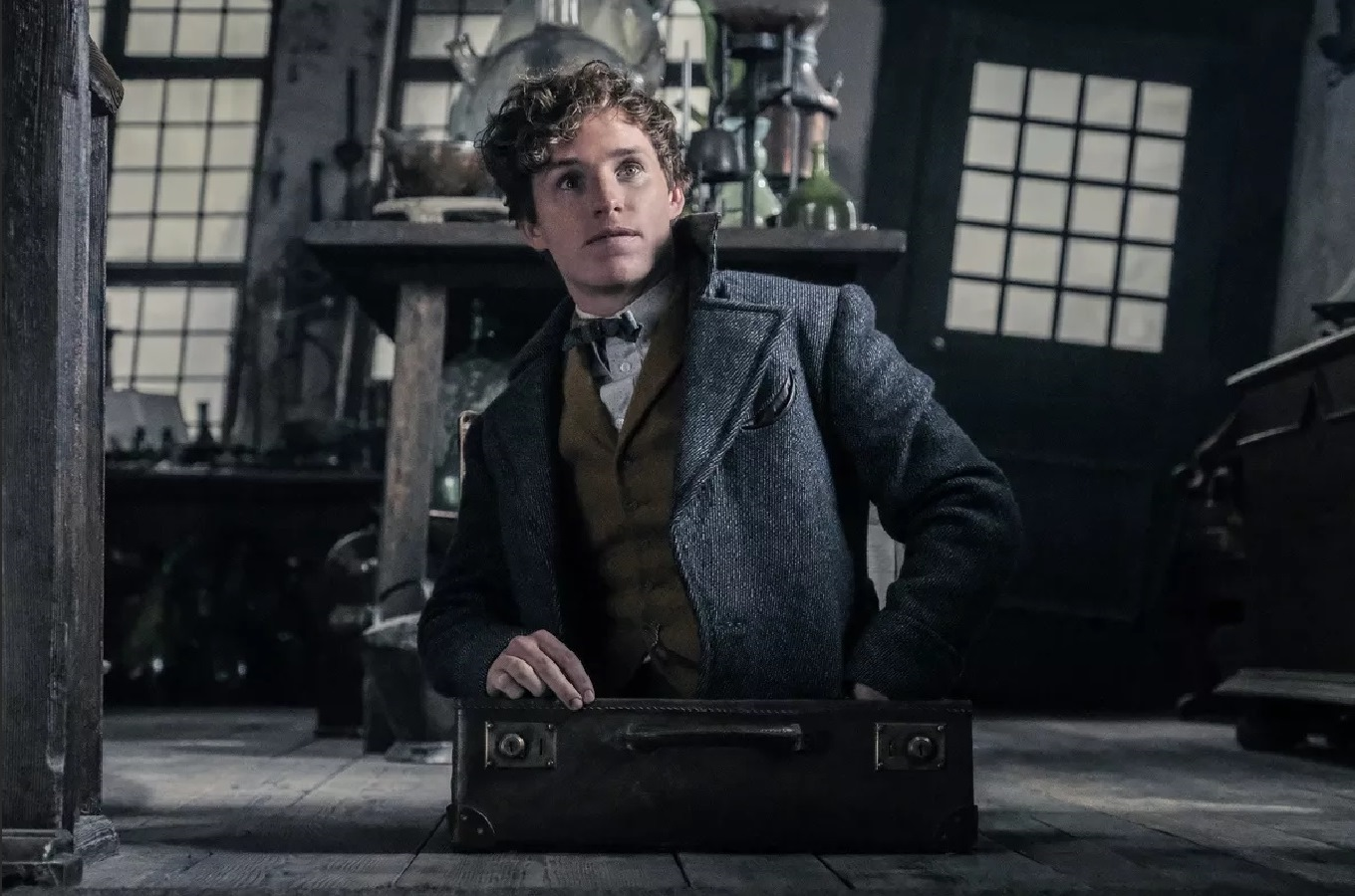 Eddie Redmayne back as New Scamander in Fantastic Beasts: The Crimes of Grindelwald (2018)