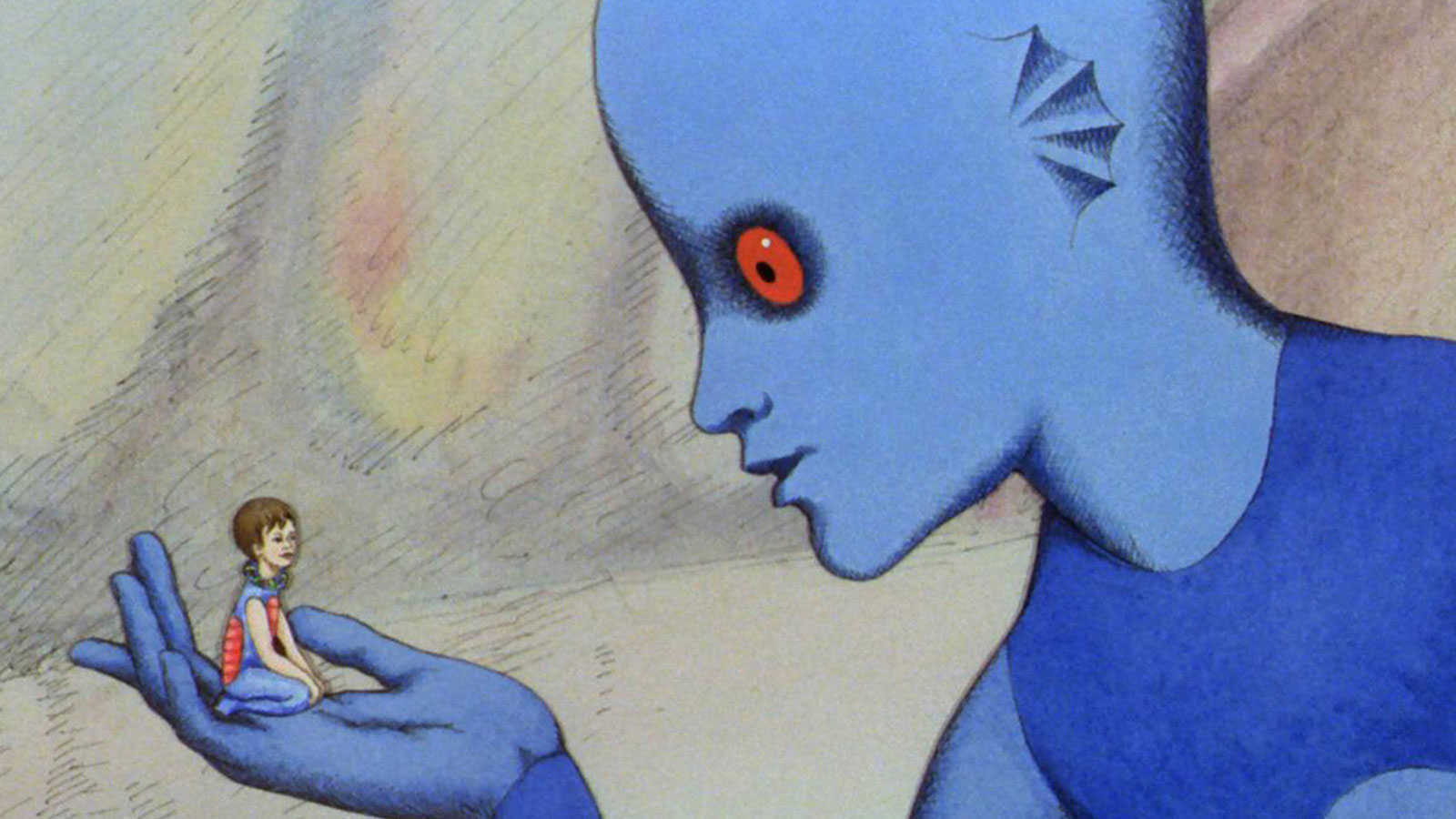 The Om Ter is adopted by the Draag Tiba in Fantastic Planet (1973)