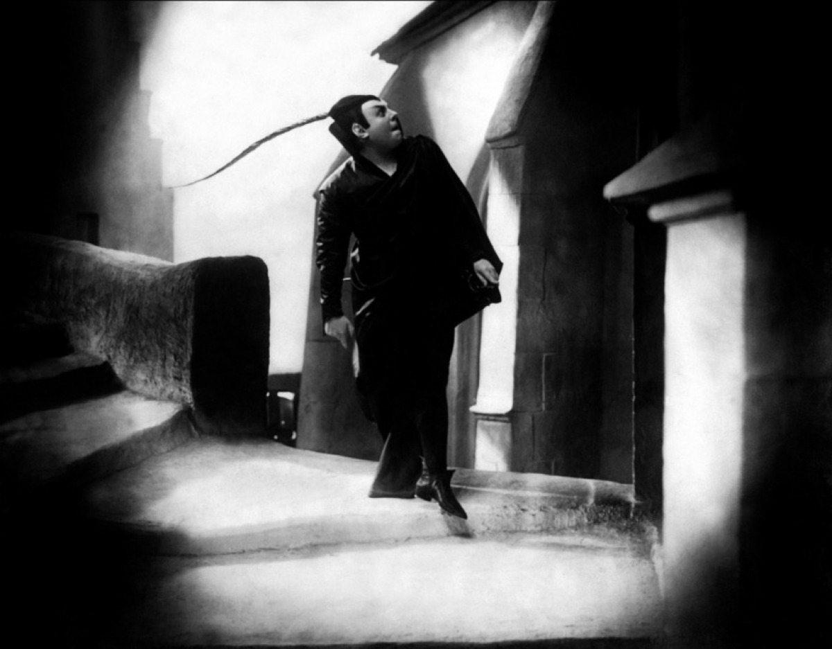 Emil Jannings as Mephisto in Faust (1926)