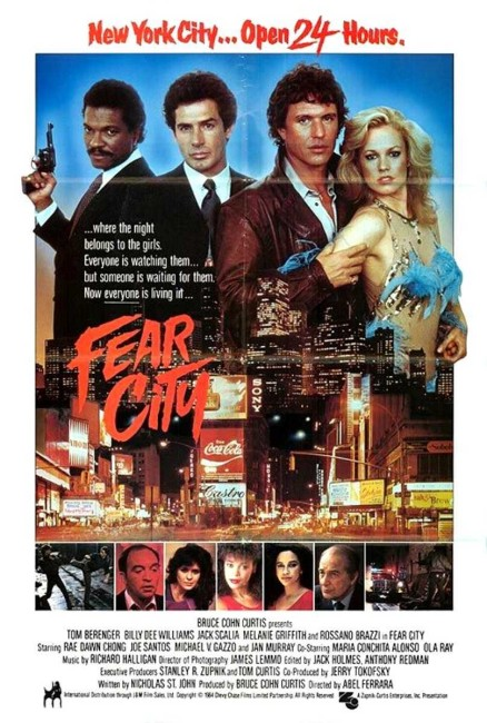 Fear City (1984) poster