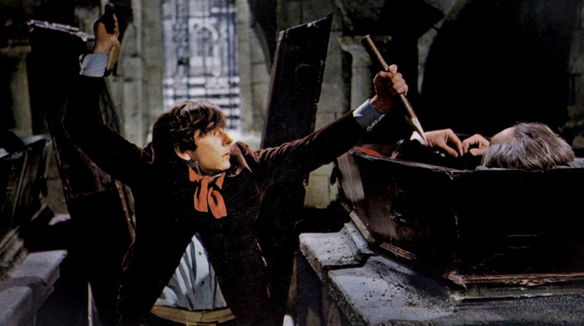 Roman Polanski (also the film's director) as the bumbling vampire hunter Alfred in The Fearless Vampire Killers (1967)