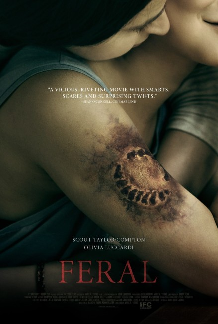 Feral (2017) poster