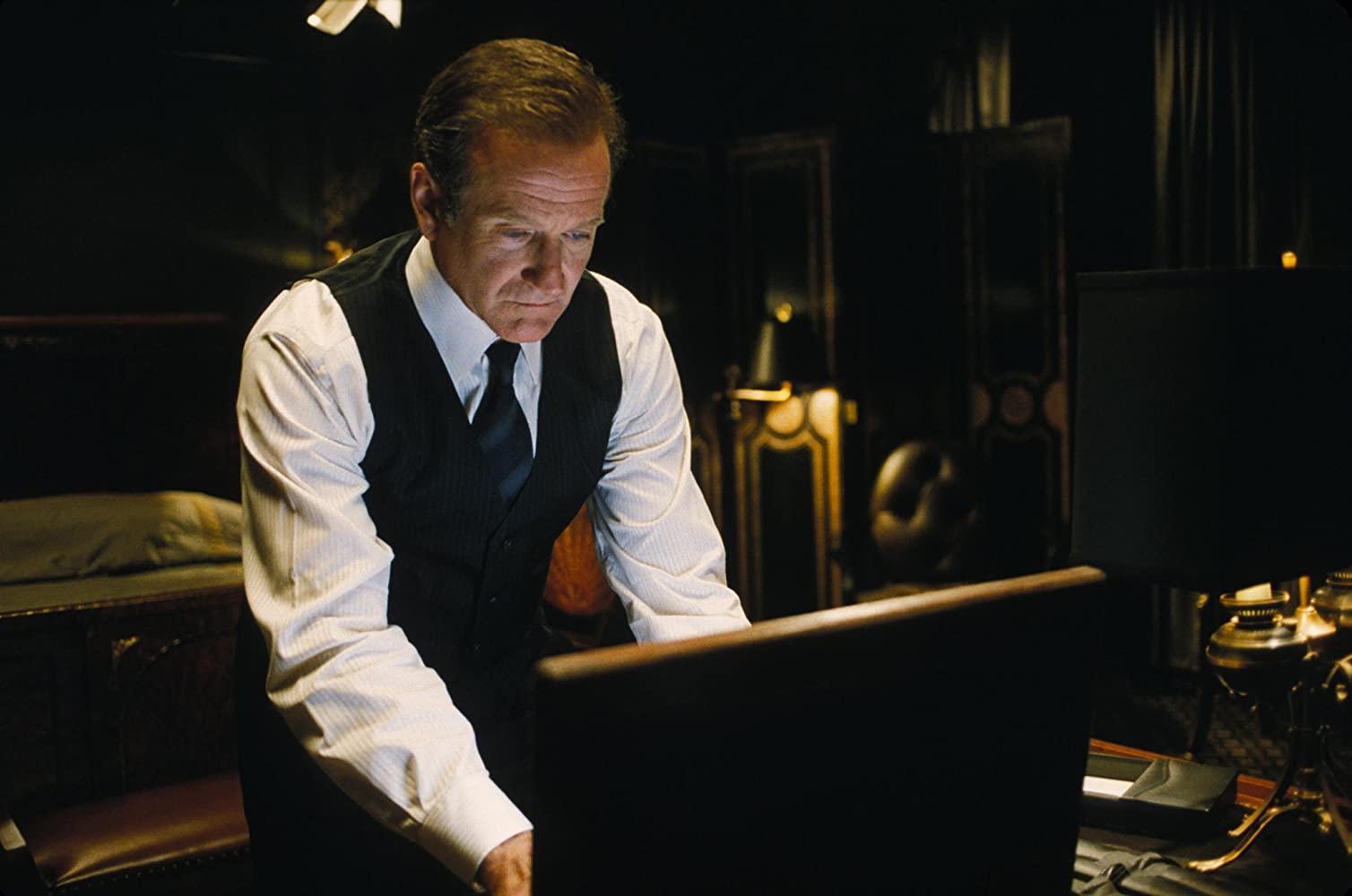 Robin Williams as Alan Hakman in The Final Cut (2004)