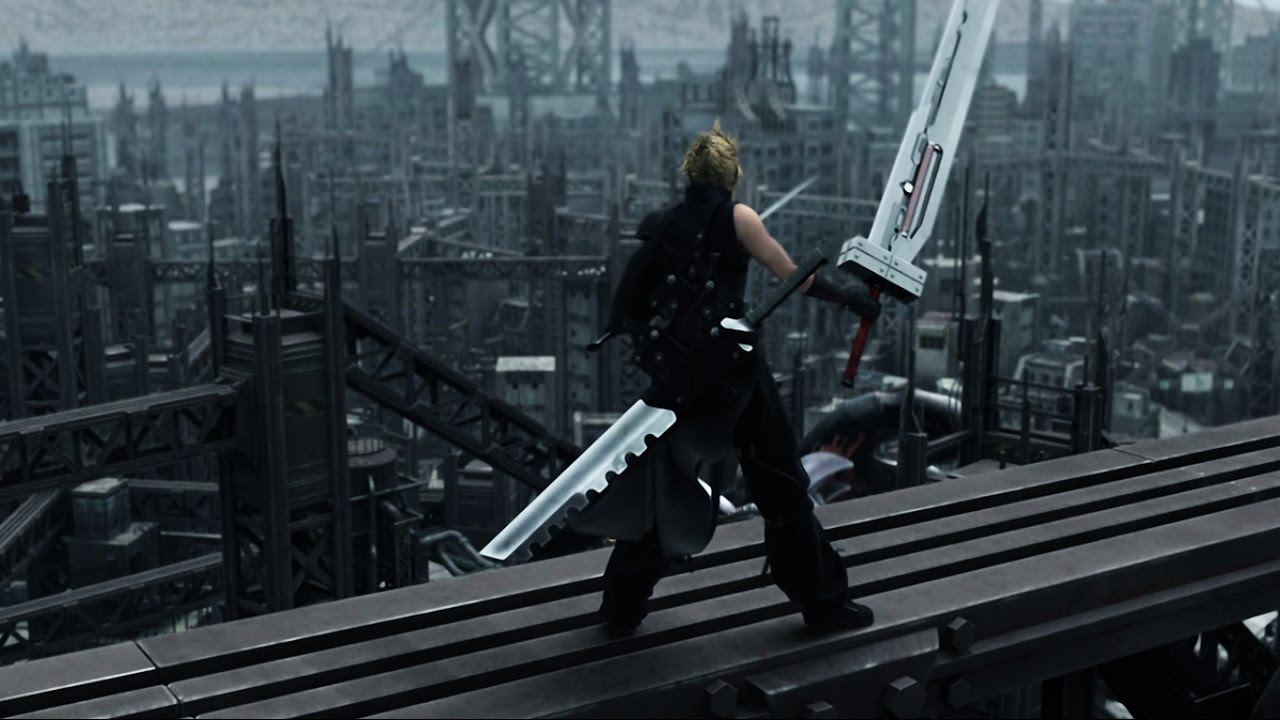 Cloud Strife in Final Fantasy VII: Advent Children (2005)