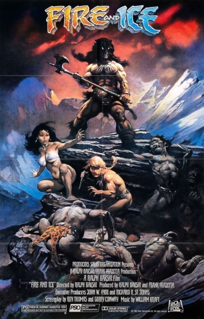 Fire and Ice (1983) poster
