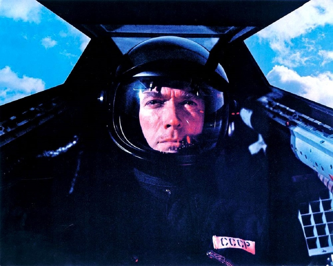 Clint Eastwood as fighter pilot Mitchell Gant in Firefox (1982)