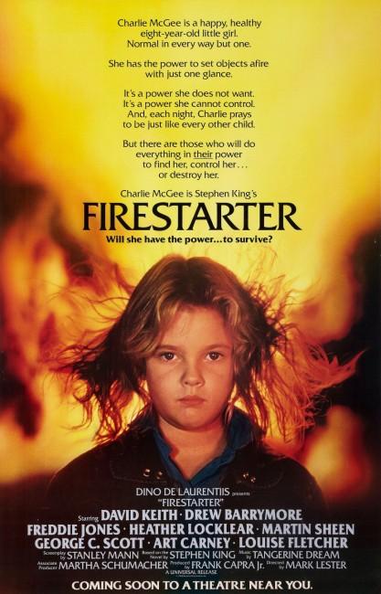 Firestarter (1984) poster